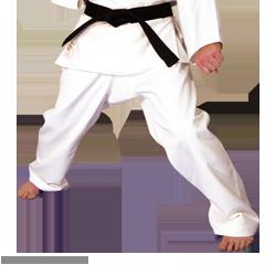Martial Arts Heavyweight Hayashi Traditional 14 oz. Karate Pants