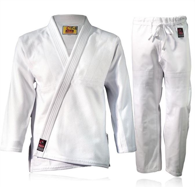Fuji Standard BJJ Gi Brazilian Jiu Jitsu Uniform - White
