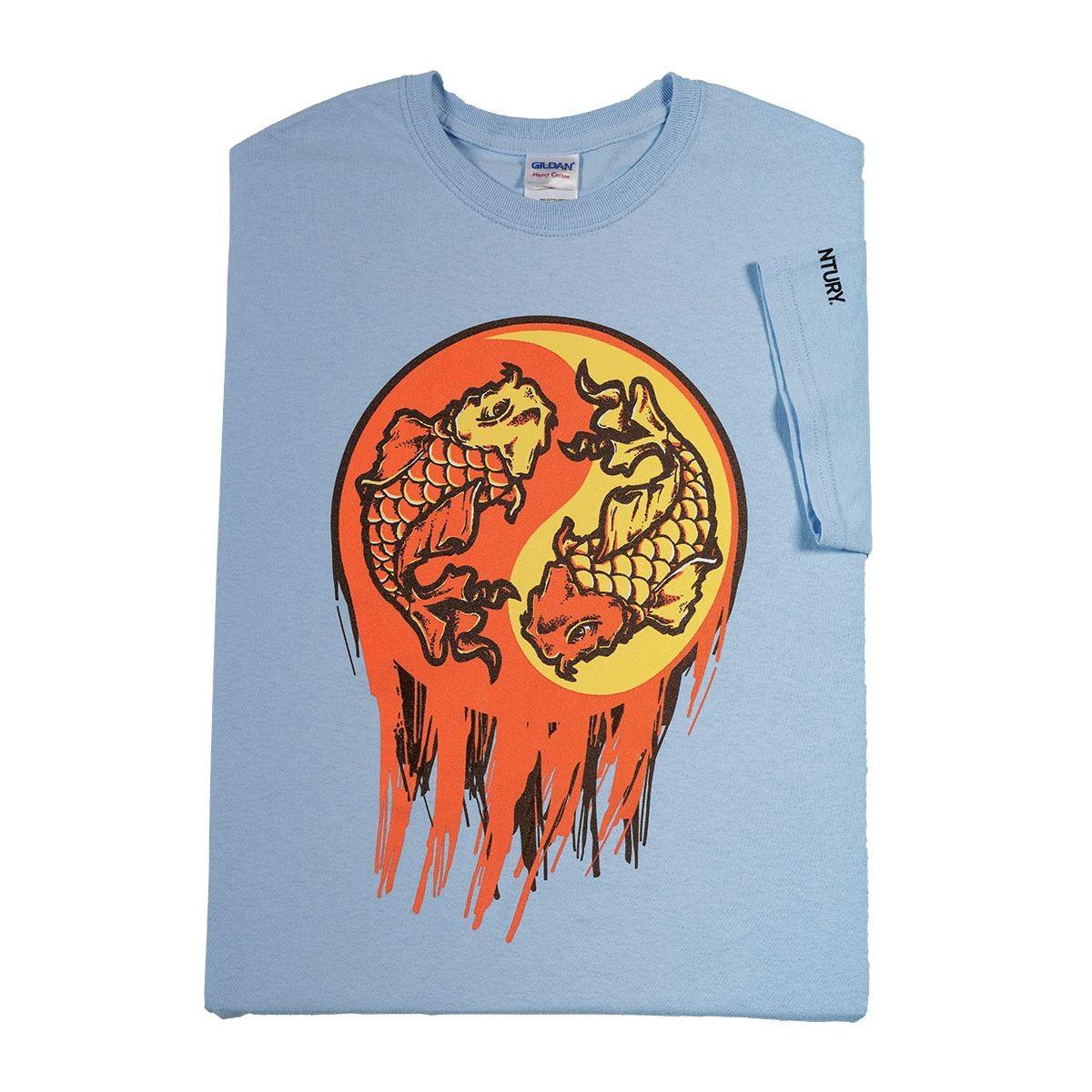 Century Martial Arts Yin Yang Koi Fish Ladies T-Shirt