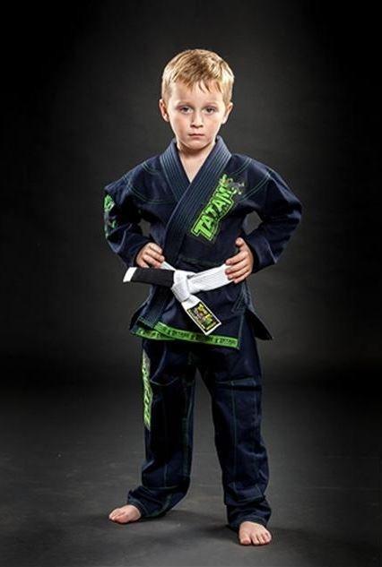 Tatami Animal Kids Jiu Jitsu Gi Uniform - Navy Blue