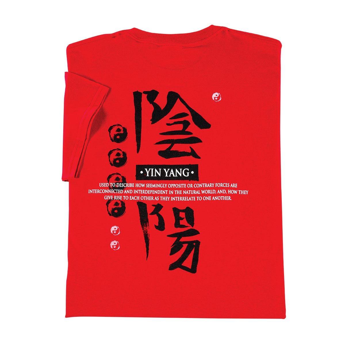 Century Martial Arts Yin Yang Definition T-Shirt