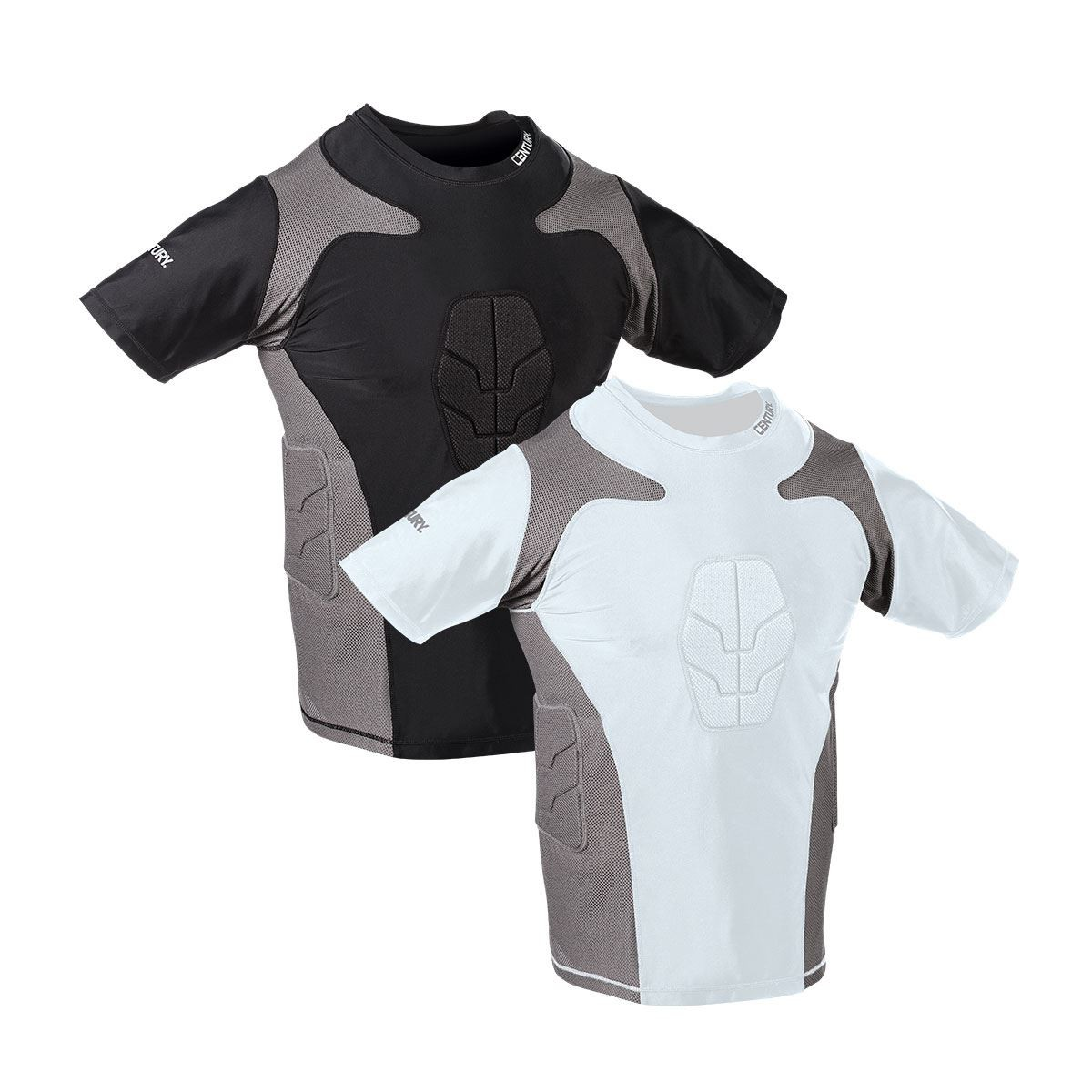 Martial Arts Short Sleeve Padded Compression Shirts - Youth