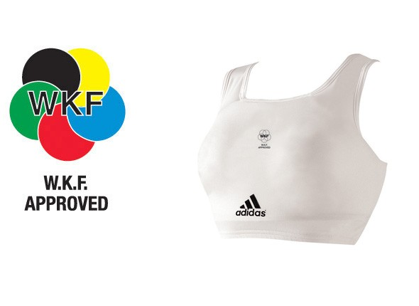 Adidas WKF Lady Chest Protector
