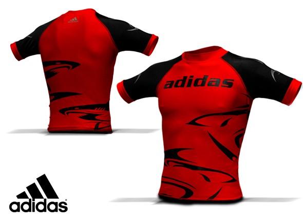Adidas MMA Shark Rashguard (ADICST03-06)