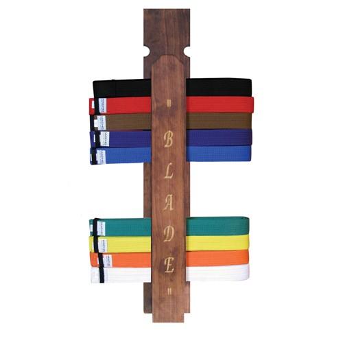 Blade Martial Arts Belt Rack Display