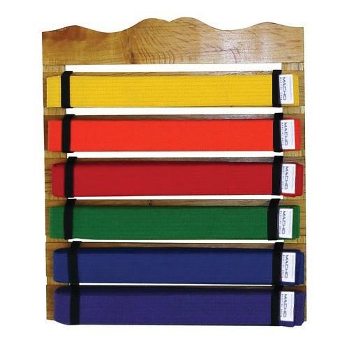 Martial Arts Belt Rack Display