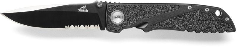 Gerber Drop Point Serrated Knife Edge Tactical Blade Folder