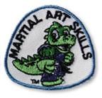 Lil Dragon Martial Arts Skills Shoulder Patch