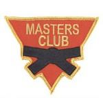 Martial Arts Master's Club Uniform Patch