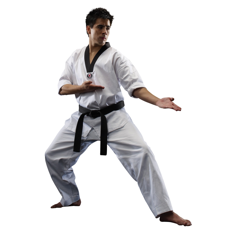Macho Martial Arts Classic V-Neck Taekwondo Uniform (8.5 oz)