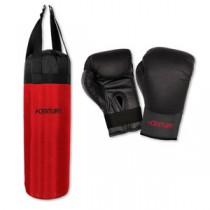 Hanging Kids Punching Bag & Training Gloves