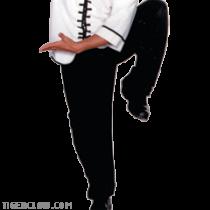 Black Kung Fu Martial Arts Pants