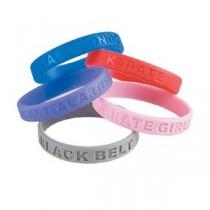 Martial Arts Accomplishment Wristbands