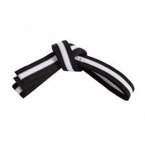 Striped Black Belts