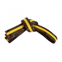 Color-Stripe Camo Belt