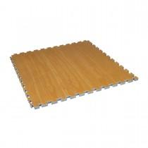 "Century Martial Arts Wood Grain Reversible 1.5"" Puzzle Mat"
