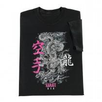 Century Martial Arts Dragon Grunge Karate T-Shirt