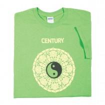 Century Martial Arts Emerald Yin Yang Ladies T-Shirt