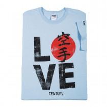 Century Martial Arts Love Karate Ladies T-Shirt