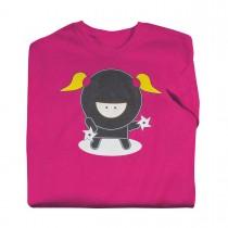 Martial Arts Ninja Girl T-Shirt