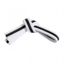 Double Wrap Black Stripe Belt