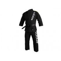 Adidas Brazilian Jiu-Jitsu Black Traditional Cut Kimono Uniform (JJ-BRAZ-TC-BK)