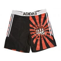 Adidas Black Impact MMA Fight Shorts (ADICSS)