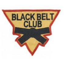 Martial Arts Black Belt Club Uniform Patch