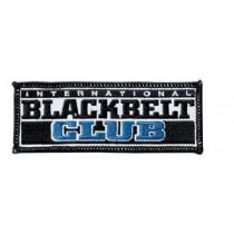 International Black Belt Club Martial Arts Patch
