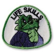 Lil Dragon Life Skills Martial Arts Shoulder Patch